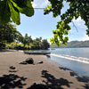 Black Sand Dive Retreat beach